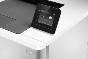 Laserdrucker Farbe - Bedienfeld